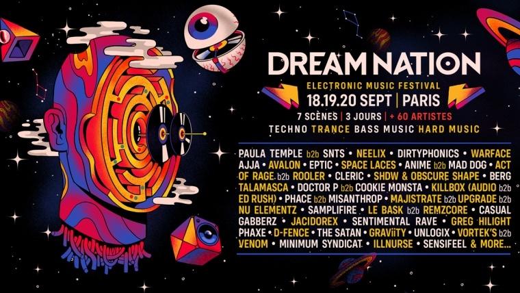 Dream nation line up