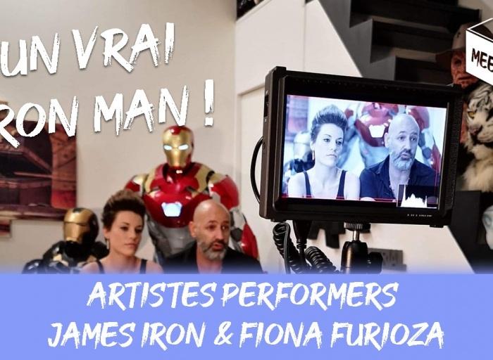 James Iron & Fiona Furioza - artistes performers