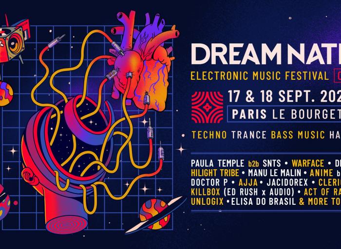 Dream Nation 2021 line Up