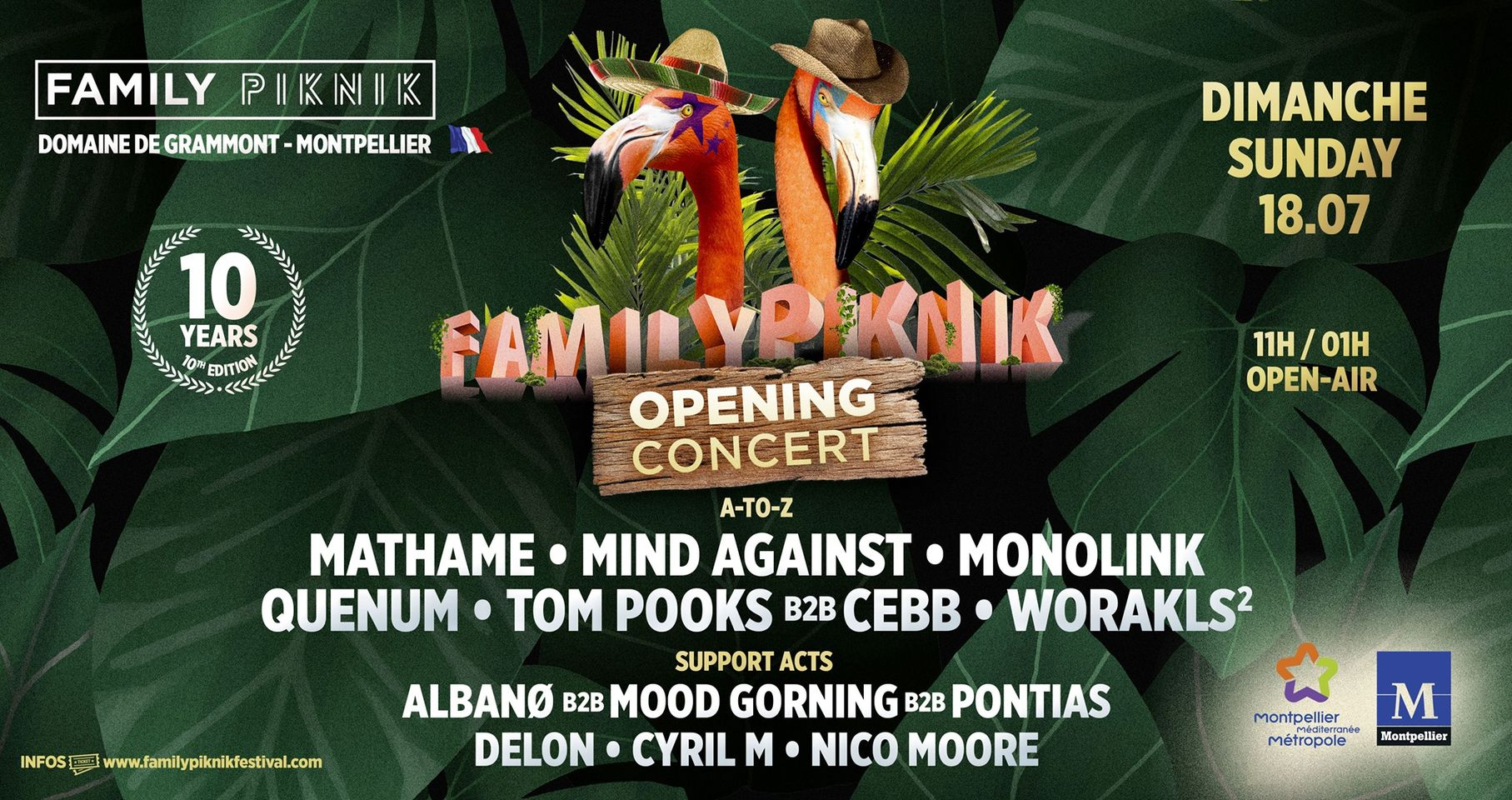 Family Piknik Opening concert