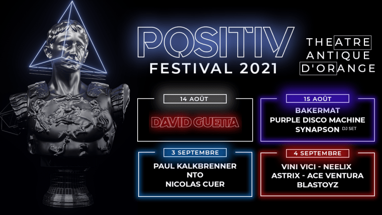 Positiv Festival 2021 Line Up