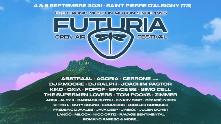 Futuria Festival 2021 Line Up